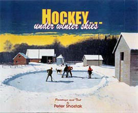 Hockey... under winter skies